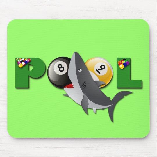 POOL SHARK MOUSE PAD