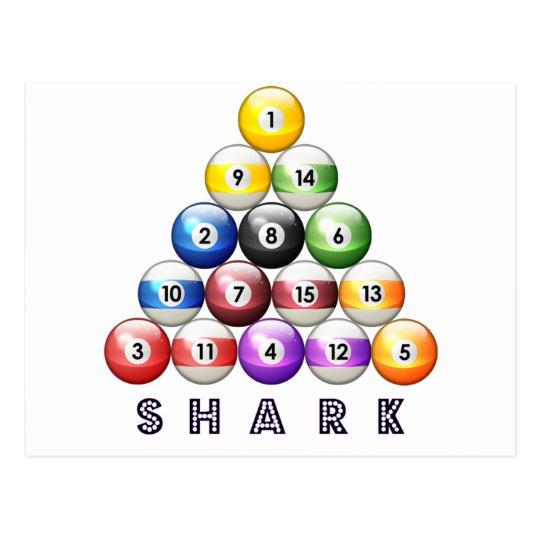 Pool Shark Postcard