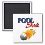 Pool Shark Refrigerator Magnet