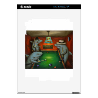 Pool Sharks Decal For iPad 2