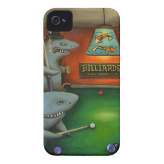 Pool Sharks iPhone 4 Cover