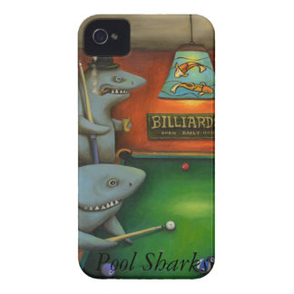 Pool Sharks with Lettering Case-Mate iPhone 4 Case