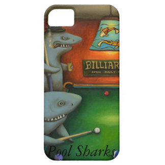 Pool Sharks with Lettering iPhone SE/5/5s Case