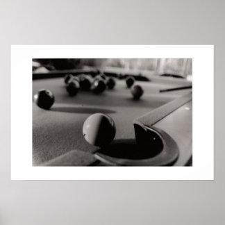 Pool Shot Print