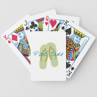 Pool Side Bicycle Playing Cards
