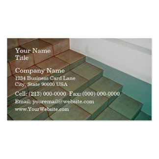 Pool Stairs Double-Sided Standard Business Cards (Pack Of 100)