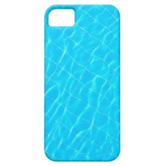 pool swim swimmingpool sport water texture blue iPhone SE/5/5s case