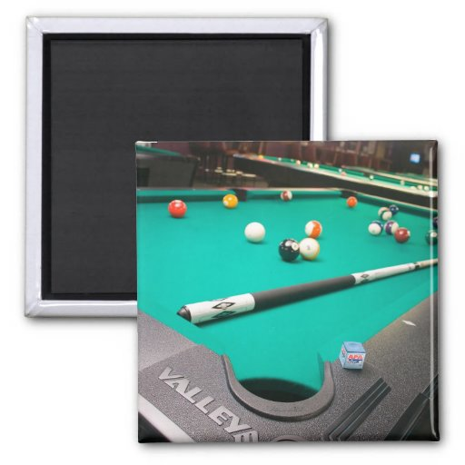 Pool Table 2 Inch Square Magnet