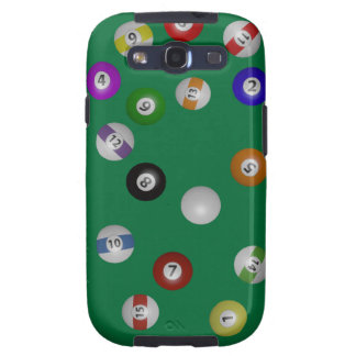 Pool Table and Balls Galaxy S3 Cover