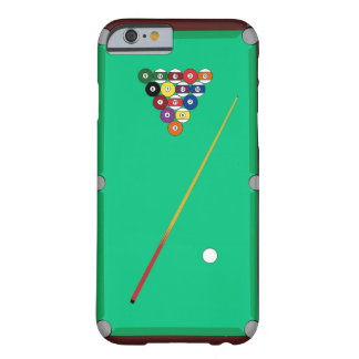 Pool Table Barely There iPhone 6 Case