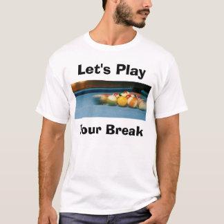 Pool Table Battle T-Shirt