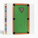 Pool Table / Billiards: Custom Binder