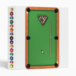 Pool Table / Billiards: Custom Binder