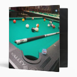 Pool Table Binder