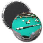 Pool Table Fridge Magnet