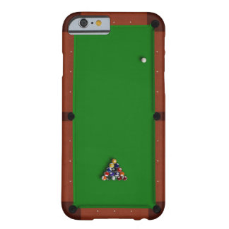 Pool Table iPhone 6 Green Barely There iPhone 6 Case