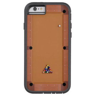Pool Table iPhone 6 Tan Tough Xtreme iPhone 6 Case