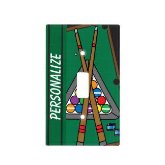 Pool Table Light Switch Cover
