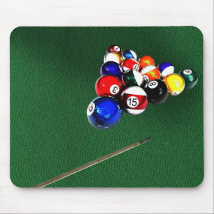 Pool Table Mouse Pads Zazzle - Pool table pad