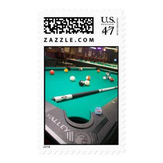 Pool Table Postage