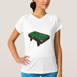 Pool Table Womens Active Tee