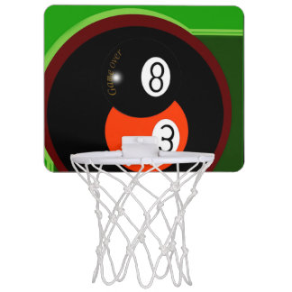 Pool Team Mini Basketball Backboard