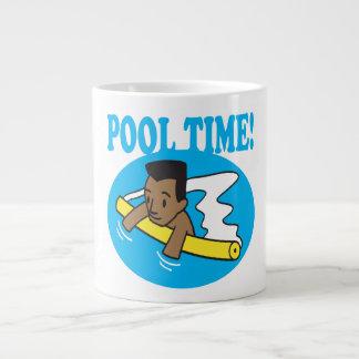 Pool Time 2 Large Coffee Mug
