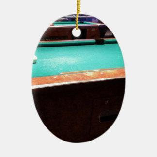 Pool Time Ceramic Ornament