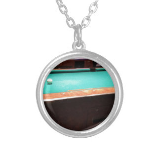 Pool Time Silver Plated Necklace