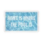 Pool Water Acrylic Tray
