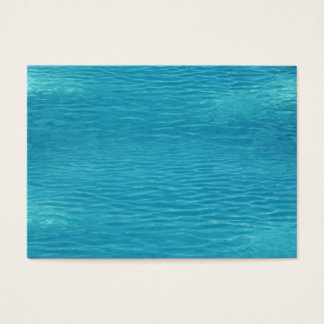 Pool Water Background Business Card