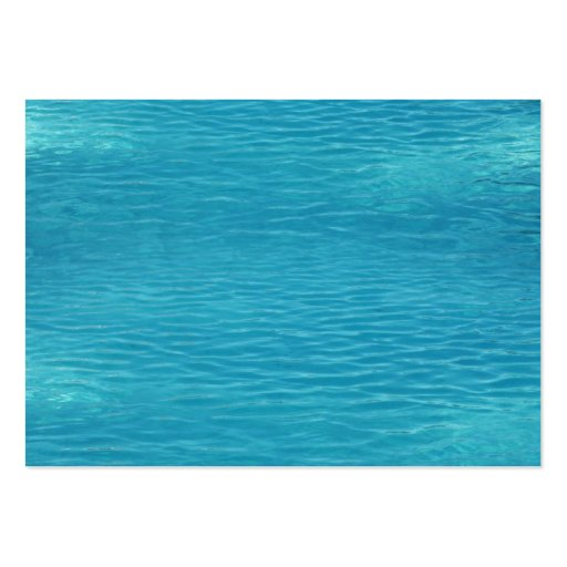 Pool Water Background Large Business Cards (Pack Of 100)
