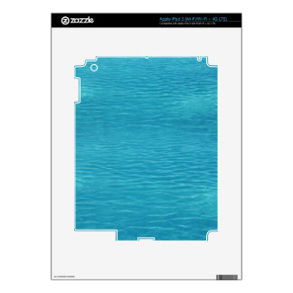 Pool Water Background Skin For iPad 3