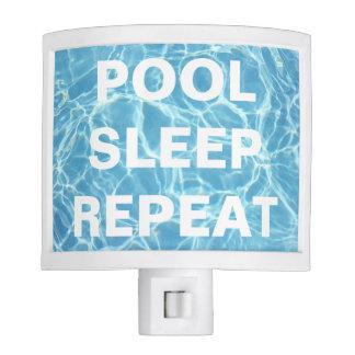 Pool Water Night Light