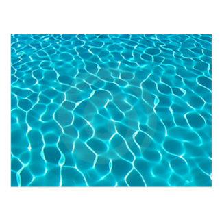Pool Water Postcard