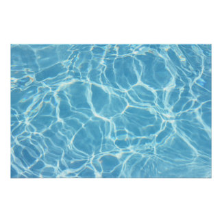 Pool Water Poster