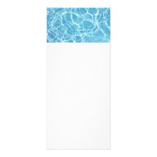 Pool Water Rack Cards