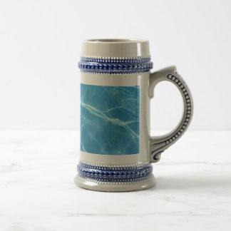 Pool Water with Tiles Beer Stein