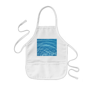 Pool Water with Tiles Kids' Apron