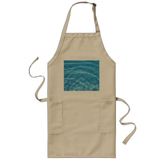 Pool Water with Tiles Long Apron