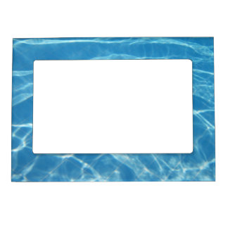 Pool Water with Tiles Magnetic Picture Frame