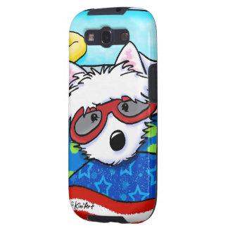 Poolboy Westie Samsung Galaxy S3 Funda