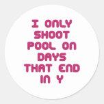 PoolChick Days Stickers