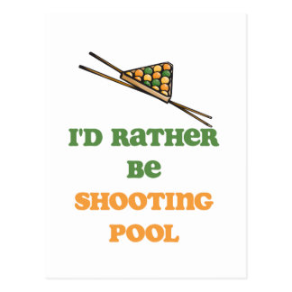 PoolChick Rather Postcard