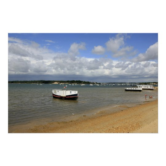 Poole in Dorset Poster Print