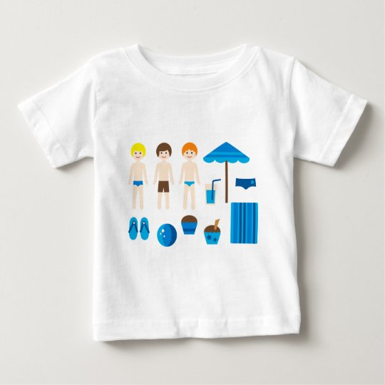 PoolPartyBoy1 Baby T-Shirt