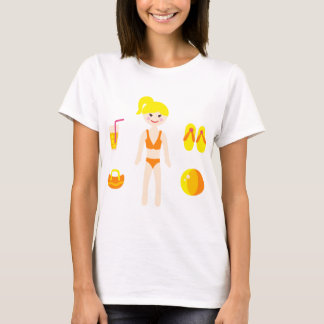 PoolPartyGirl4 T-Shirt