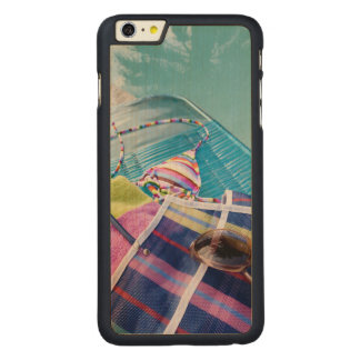 Poolside Accoutrements Carved Maple iPhone 6 Plus Slim Case