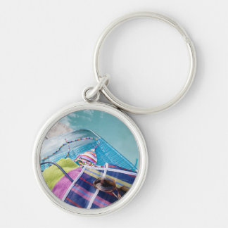 Poolside Accoutrements Keychain