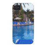 Poolside de Velas Vallarta Vibe iPhone 4 Carcasas